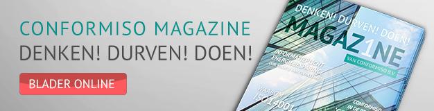 Lees over het nut van onze dienstverlening in ons magazine